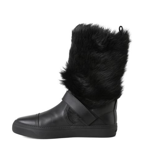 Jimmy Choo(ジミーチュウ)のFur Boots-BLACK(ブーツ/boots)-152BARRY-LWF-13 詳細画像2
