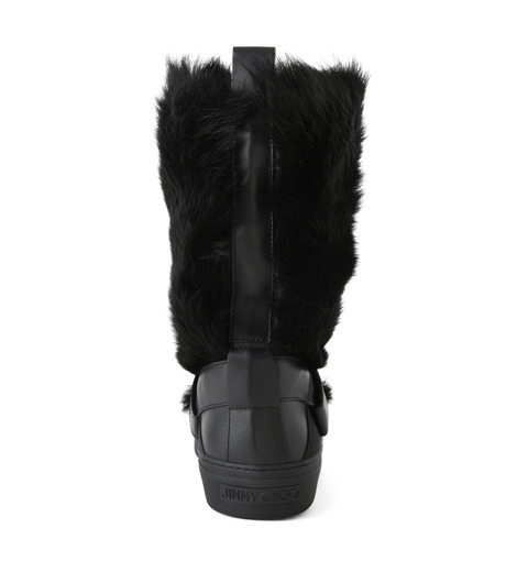 Jimmy Choo(ジミーチュウ)のFur Boots-BLACK(ブーツ/boots)-152BARRY-LWF-13 詳細画像3
