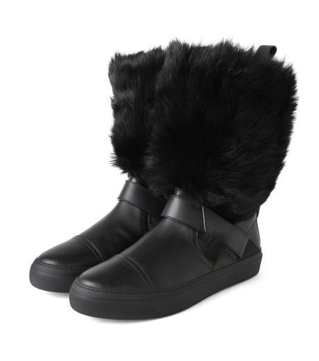 Jimmy Choo(ジミーチュウ)のFur Boots-BLACK(ブーツ/boots)-152BARRY-LWF-13 詳細画像4