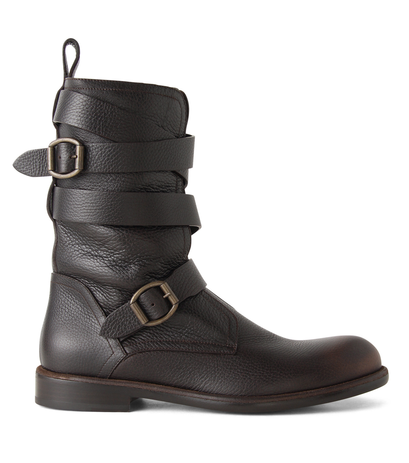 Jimmy Choo(ジミーチュウ)のBelted Boots-BROWN(ブーツ/boots)-152RIDLE-GBL-42 拡大詳細画像1