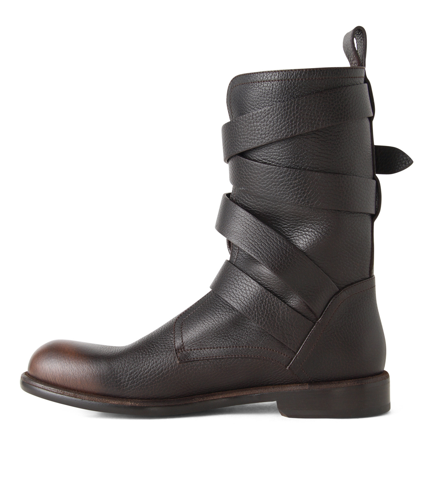 Jimmy Choo(ジミーチュウ)のBelted Boots-BROWN(ブーツ/boots)-152RIDLE-GBL-42 拡大詳細画像2