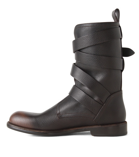 Jimmy Choo(ジミーチュウ)のBelted Boots-BROWN(ブーツ/boots)-152RIDLE-GBL-42 詳細画像2