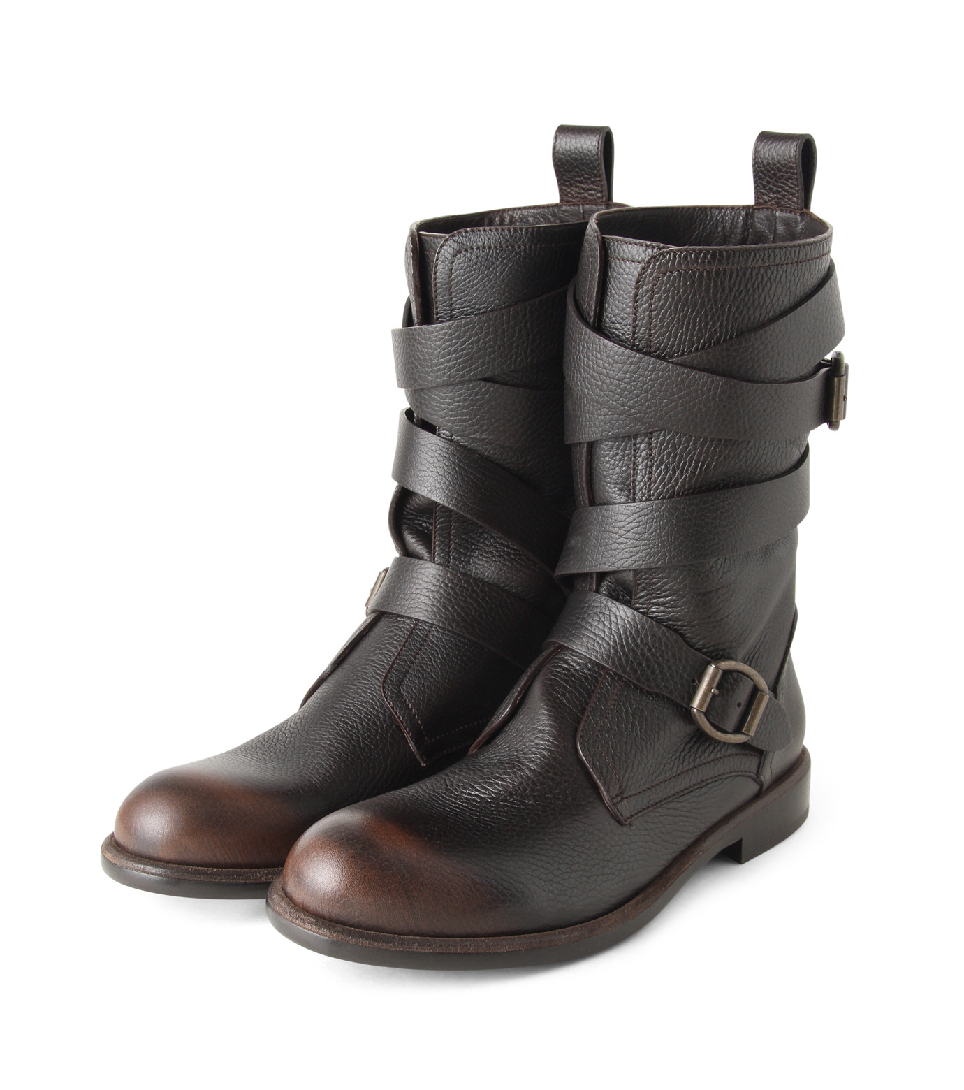 Jimmy Choo(ジミーチュウ)のBelted Boots-BROWN(ブーツ/boots)-152RIDLE-GBL-42 拡大詳細画像4