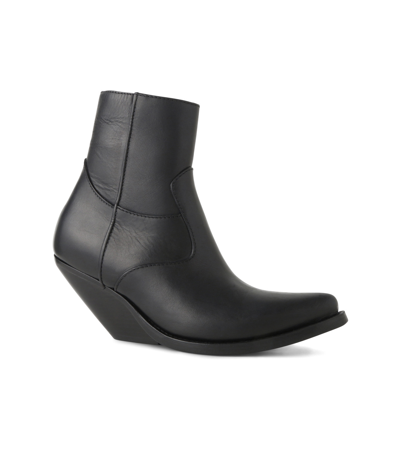 VETEMENTS(ヴェトモン)のCowboy Ankle Boots-BLACK(ブーツ/boots)-15796-13 拡大詳細画像1