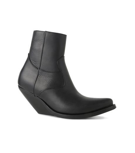 VETEMENTS(ヴェトモン)のCowboy Ankle Boots-BLACK(ブーツ/boots)-15796-13 詳細画像1