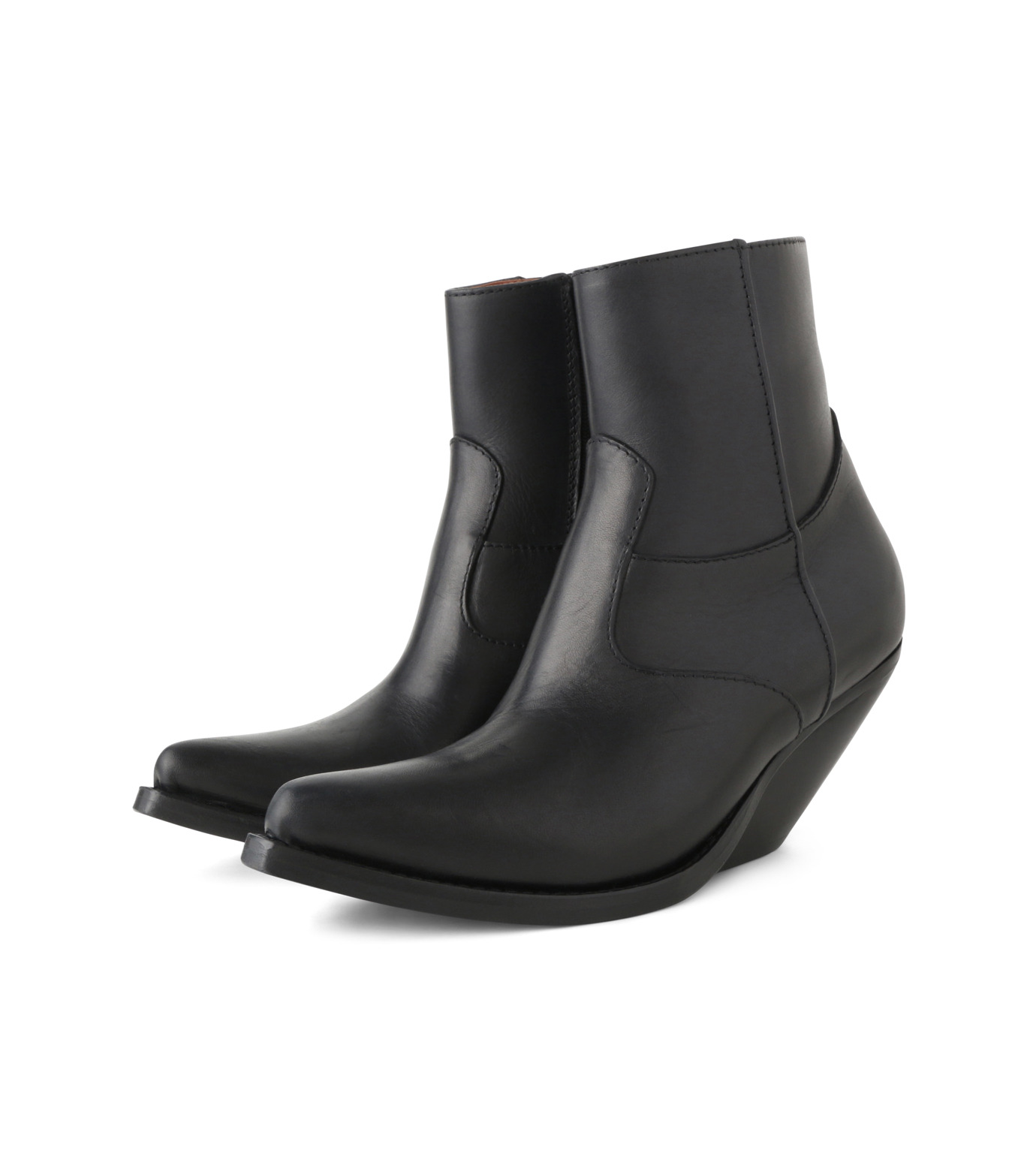 VETEMENTS(ヴェトモン)のCowboy Ankle Boots-BLACK(ブーツ/boots)-15796-13 拡大詳細画像3