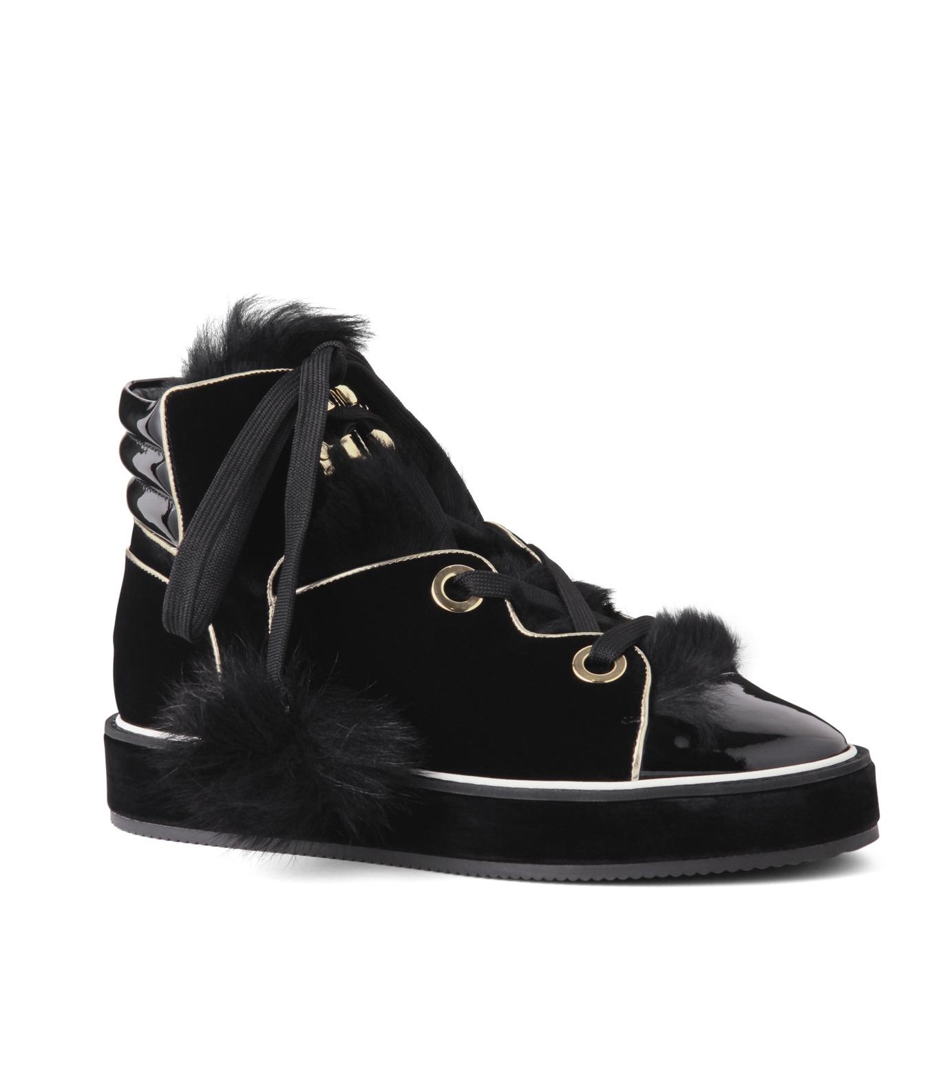 Nicholas  Kirkwood(ニコラス カークウッド)のPolly Neige High Top-BLACK(スニーカー/sneaker)-15AL161-13 拡大詳細画像1