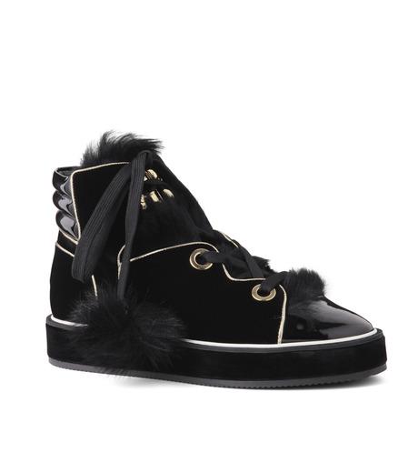 Nicholas  Kirkwood(ニコラス カークウッド)のPolly Neige High Top-BLACK(スニーカー/sneaker)-15AL161-13 詳細画像1