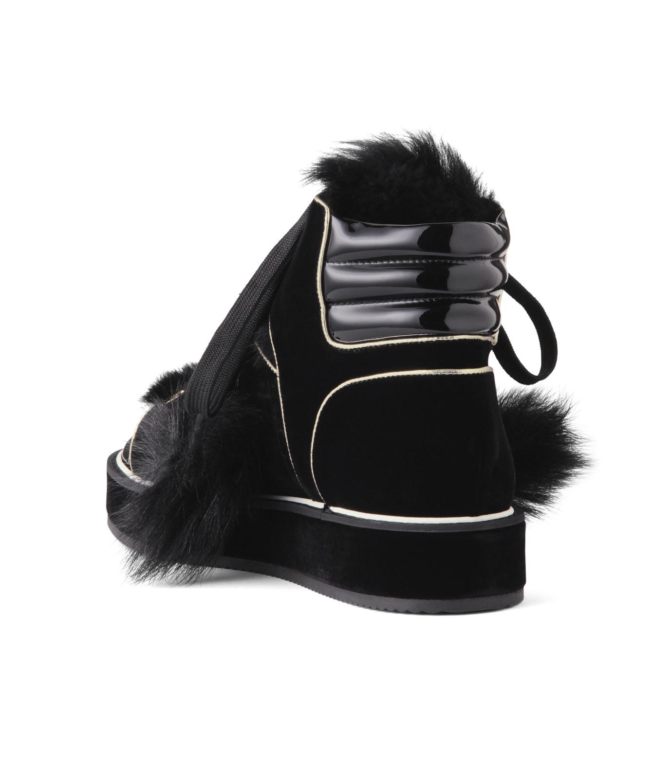 Nicholas  Kirkwood(ニコラス カークウッド)のPolly Neige High Top-BLACK(スニーカー/sneaker)-15AL161-13 拡大詳細画像2