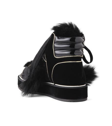 Nicholas  Kirkwood(ニコラス カークウッド)のPolly Neige High Top-BLACK(スニーカー/sneaker)-15AL161-13 詳細画像2