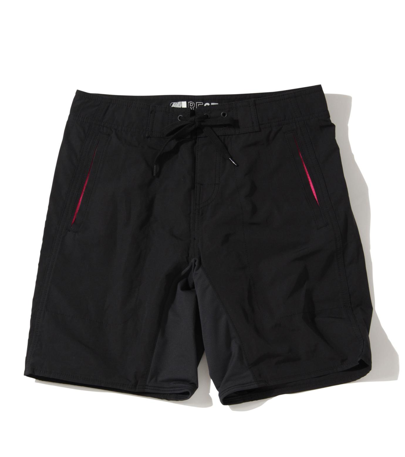 TWO TWO ONE(トゥートゥーワン)のSurf shorts short-BLACK(SWIMWEAR/SWIMWEAR)-15N948001-13 拡大詳細画像1
