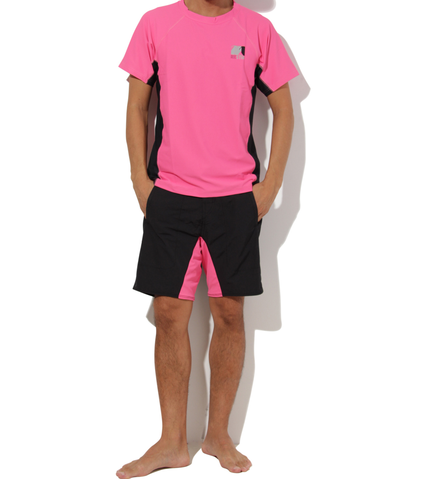 TWO TWO ONE(トゥートゥーワン)のSurf shorts short-PINK(SWIMWEAR/SWIMWEAR)-15N948001-72 拡大詳細画像5