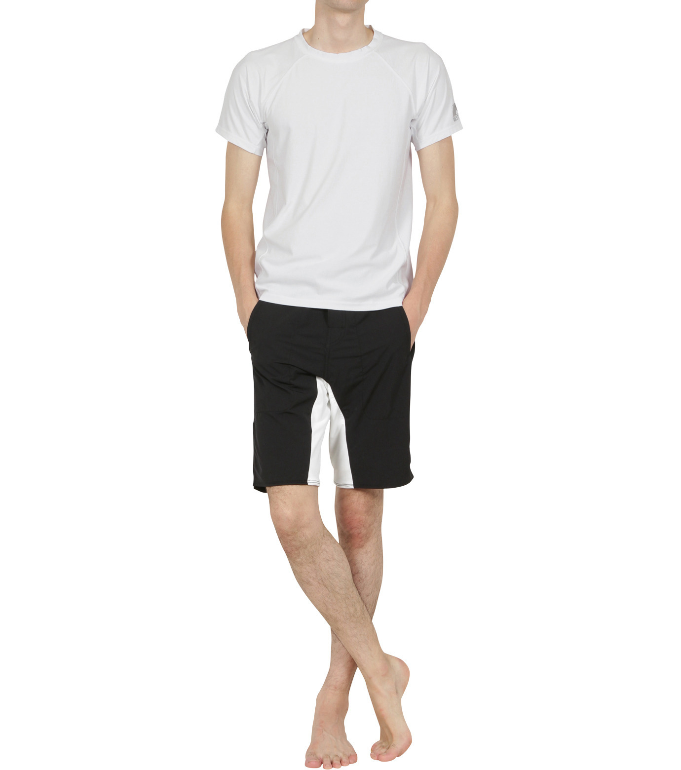 TWO TWO ONE(トゥートゥーワン)のSurf shorts long-WHITE(SWIMWEAR/SWIMWEAR)-15N948002-4 拡大詳細画像3