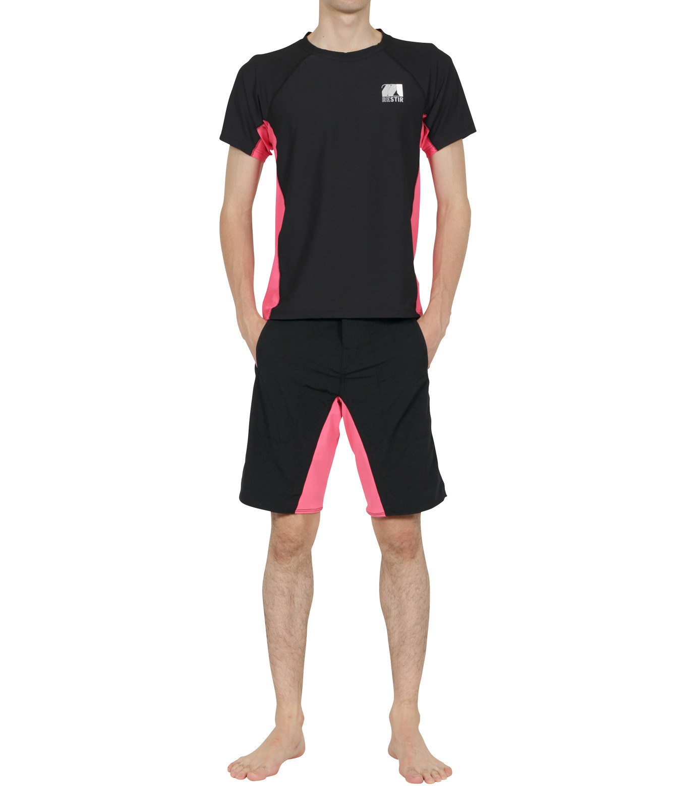 TWO TWO ONE(トゥートゥーワン)のSurf shorts long-PINK(SWIMWEAR/SWIMWEAR)-15N948002-72 拡大詳細画像3