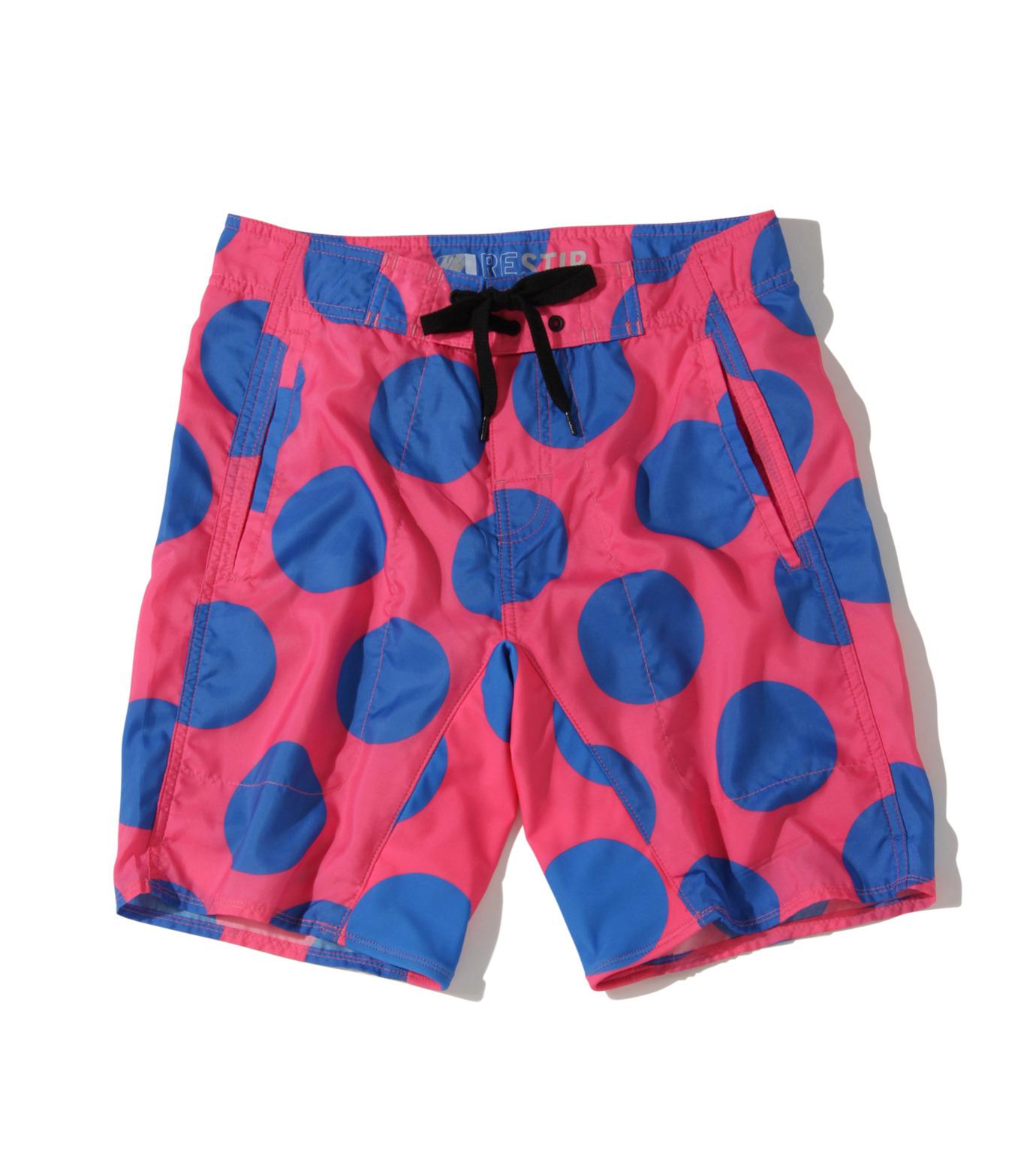 TWO TWO ONE(トゥートゥーワン)のDot surf shorts-SALMON PINK(SWIMWEAR/SWIMWEAR)-15N98003-73 拡大詳細画像1