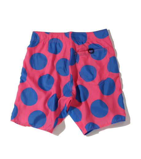 TWO TWO ONE(トゥートゥーワン)のDot surf shorts-SALMON PINK(SWIMWEAR/SWIMWEAR)-15N98003-73 詳細画像2