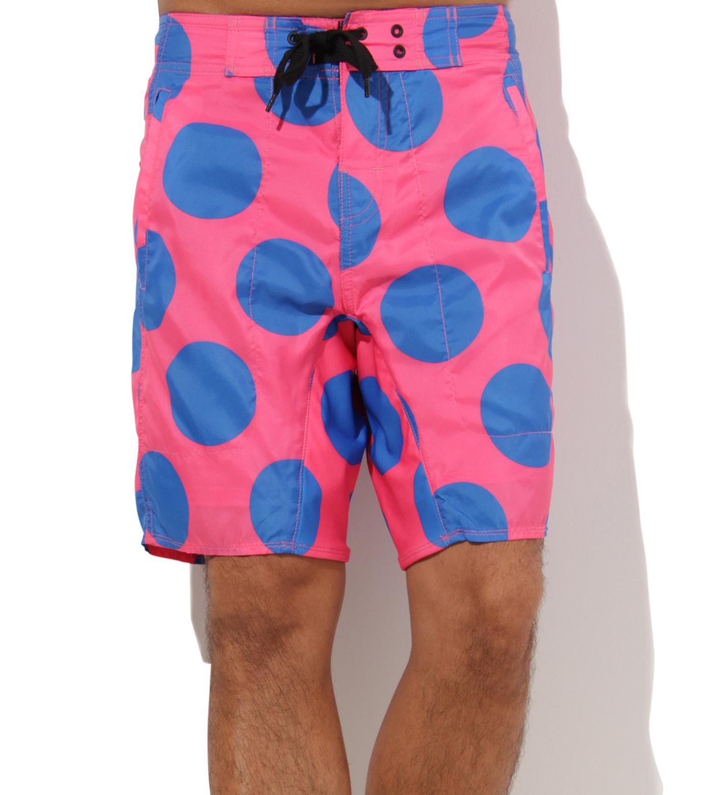 TWO TWO ONE(トゥートゥーワン)のDot surf shorts-SALMON PINK(SWIMWEAR/SWIMWEAR)-15N98003-73 拡大詳細画像3