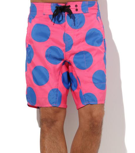 TWO TWO ONE(トゥートゥーワン)のDot surf shorts-SALMON PINK(SWIMWEAR/SWIMWEAR)-15N98003-73 詳細画像3