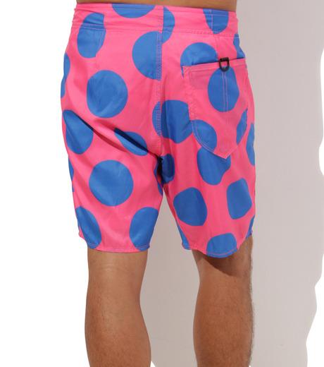 TWO TWO ONE(トゥートゥーワン)のDot surf shorts-SALMON PINK(SWIMWEAR/SWIMWEAR)-15N98003-73 詳細画像4