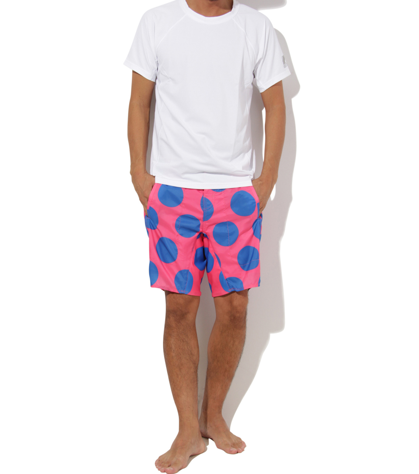 TWO TWO ONE(トゥートゥーワン)のDot surf shorts-SALMON PINK(SWIMWEAR/SWIMWEAR)-15N98003-73 拡大詳細画像5