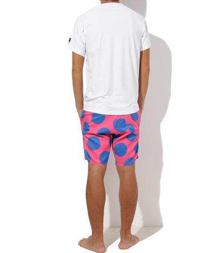 TWO TWO ONE(トゥートゥーワン)のDot surf shorts-SALMON PINK(SWIMWEAR/SWIMWEAR)-15N98003-73 詳細画像6