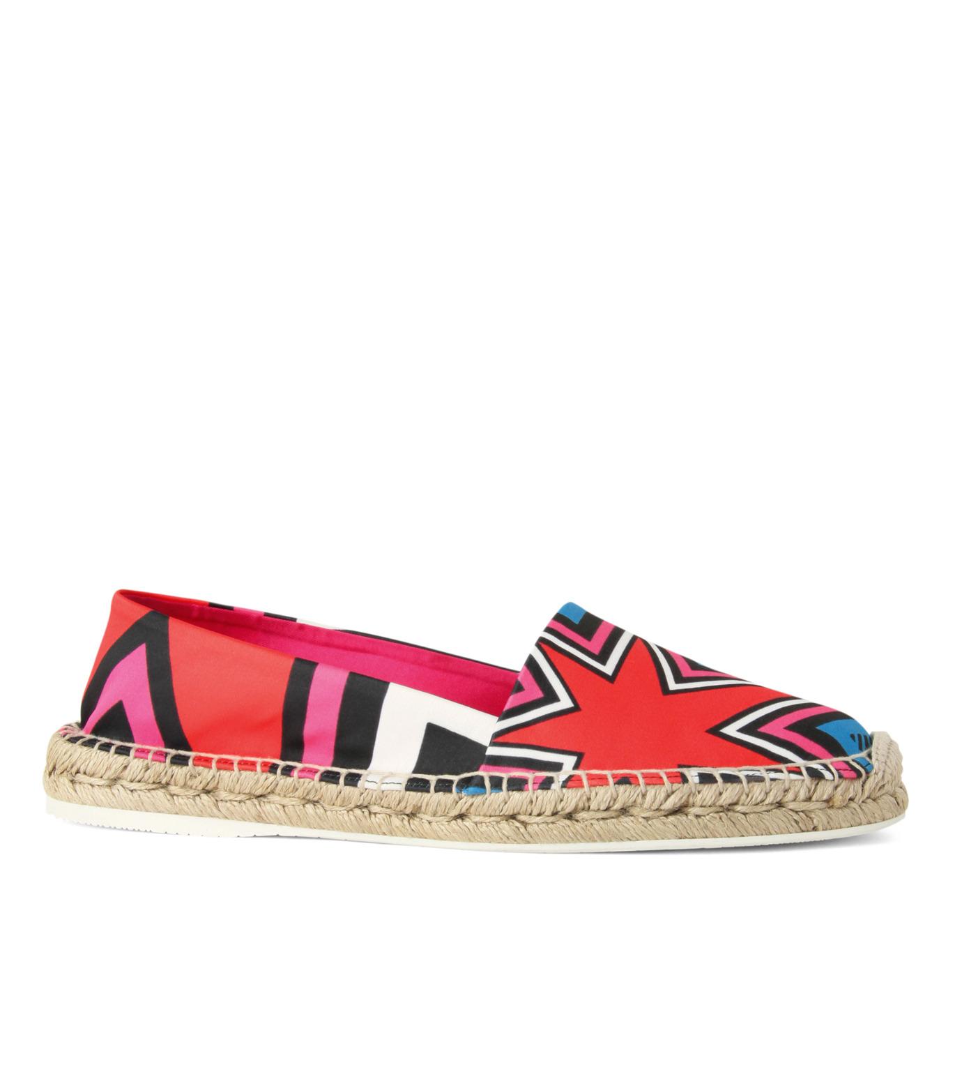 Nicholas  Kirkwood(ニコラス カークウッド)のEspadrille Loafer-MULTI COLOUR(シューズ/shoes)-15SF012-9 拡大詳細画像1
