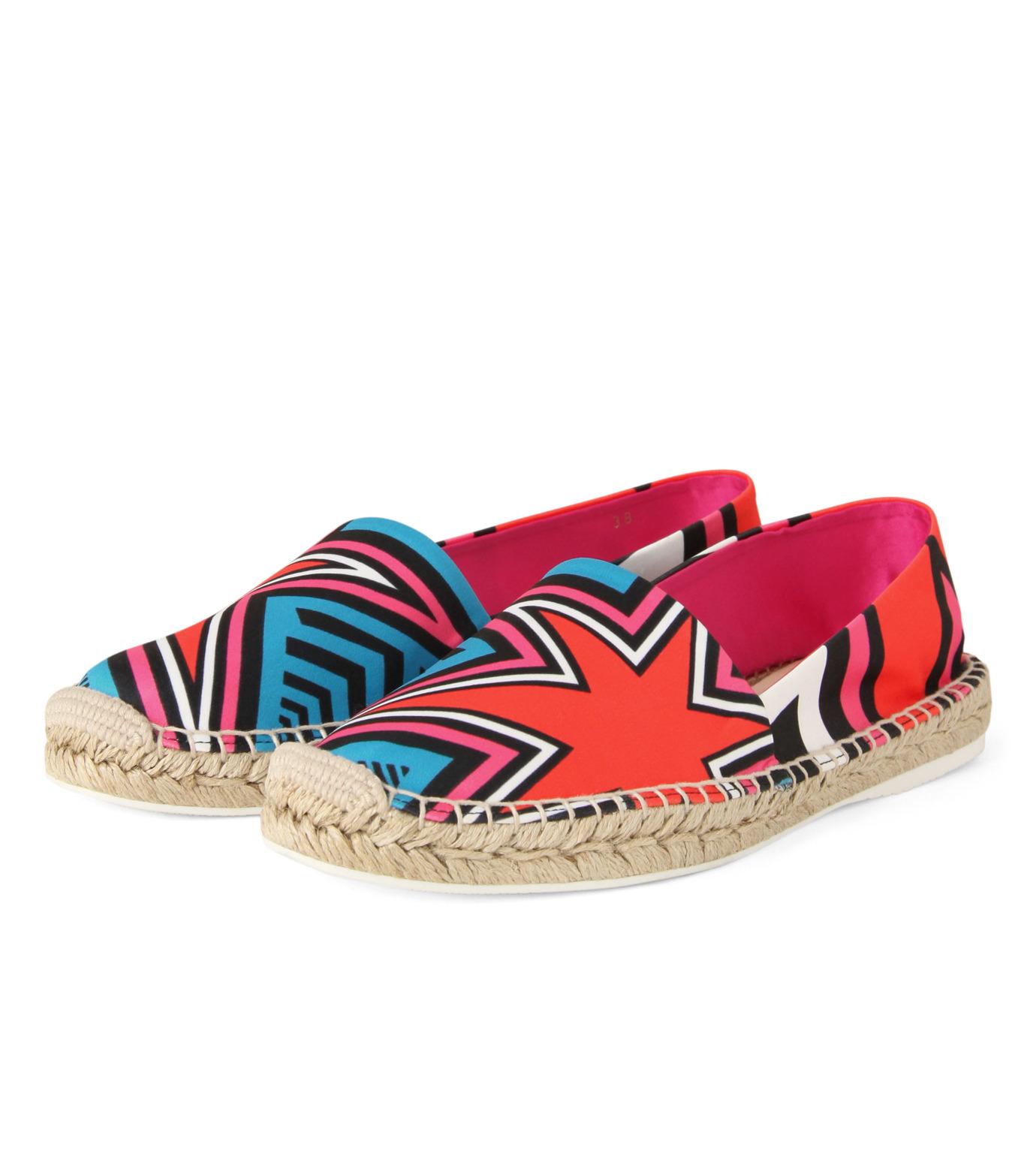Nicholas  Kirkwood(ニコラス カークウッド)のEspadrille Loafer-MULTI COLOUR(シューズ/shoes)-15SF012-9 拡大詳細画像3