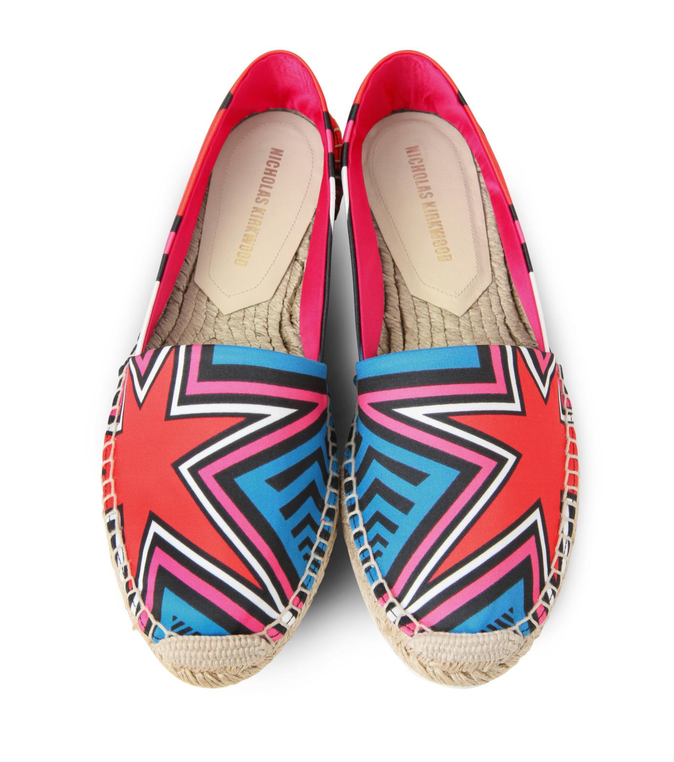 Nicholas  Kirkwood(ニコラス カークウッド)のEspadrille Loafer-MULTI COLOUR(シューズ/shoes)-15SF012-9 拡大詳細画像4