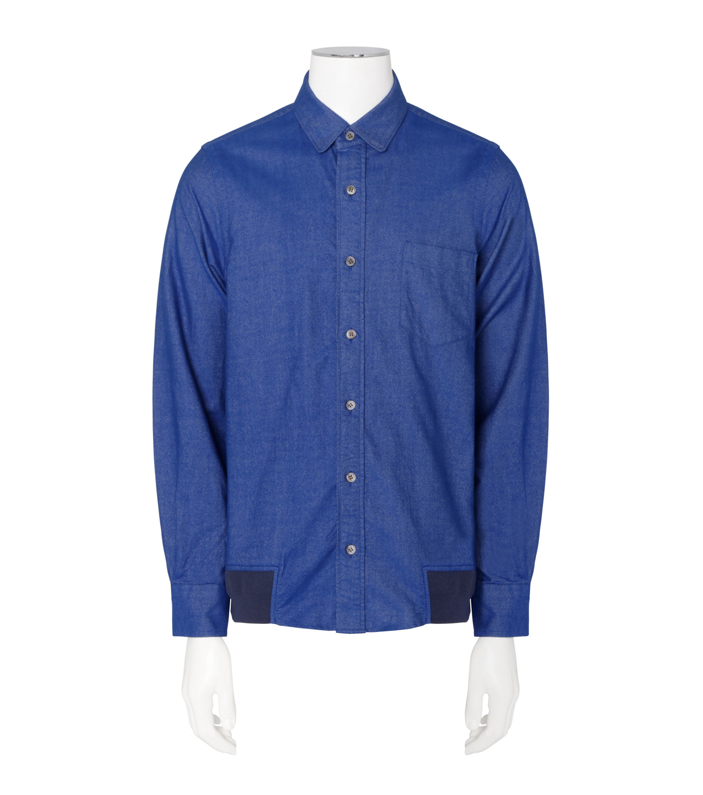 Sacai(サカイ)のOxford Shirt-BLUE(シャツ/shirt)-16-01093M-92 拡大詳細画像1