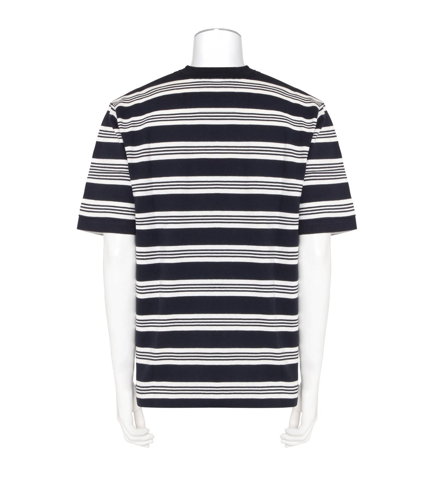 Sacai(サカイ)のBorder T-WHITE(カットソー/cut and sewn)-16-01174M-4 拡大詳細画像2