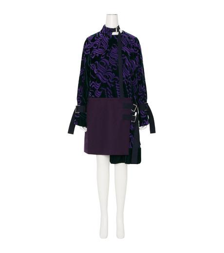 Sacai(サカイ)のVelvet Dress-PURPLE(ワンピース/one piece)-16-02877-82 詳細画像1