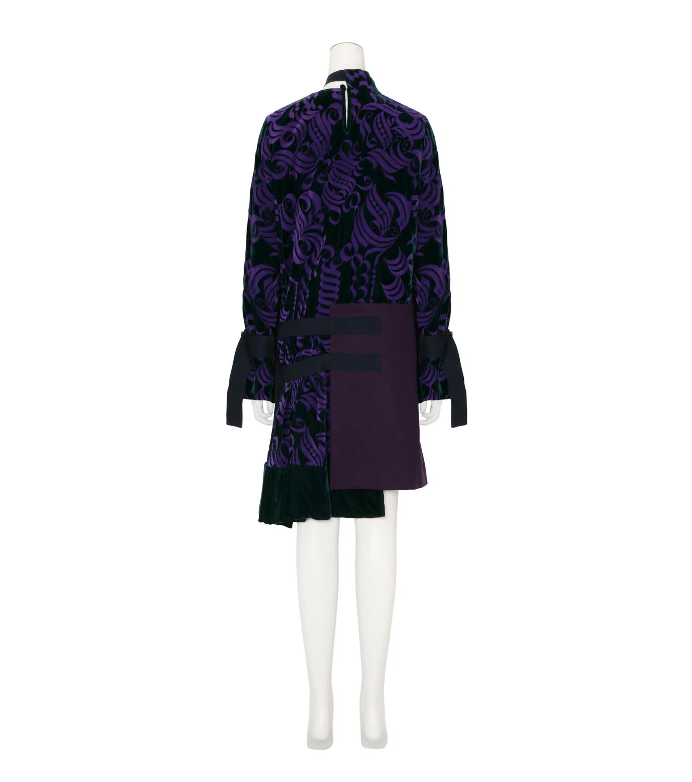 Sacai(サカイ)のVelvet Dress-PURPLE(ワンピース/one piece)-16-02877-82 拡大詳細画像2