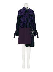 Sacai Velvet Dress