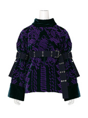 Sacai Velvet Belted Top