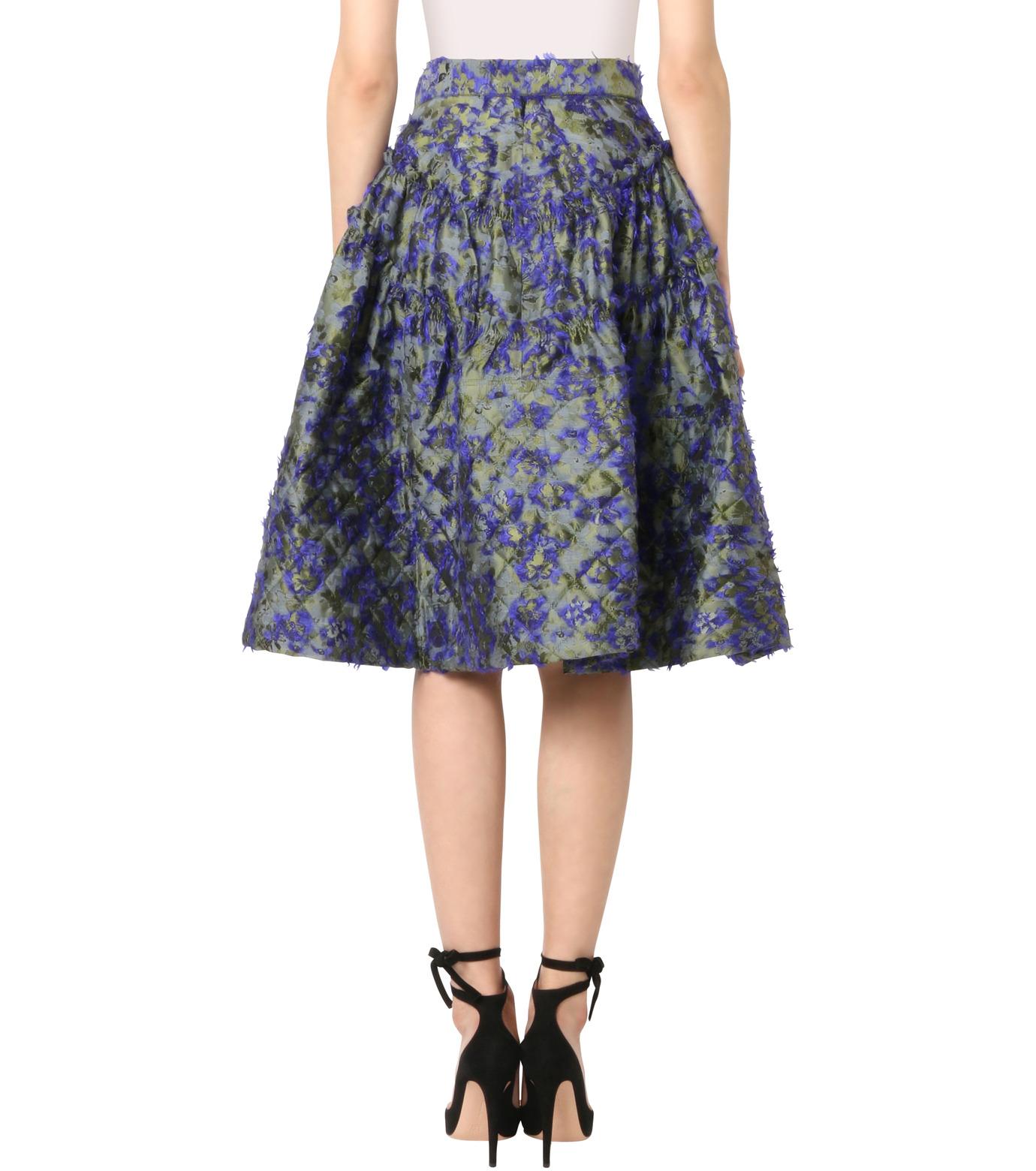 Jourden(ジョーダン)のCobalt Asym. Duvet Ruffle Skirt-BLUE(スカート/skirt)-1603WJ1JA03-92 拡大詳細画像2