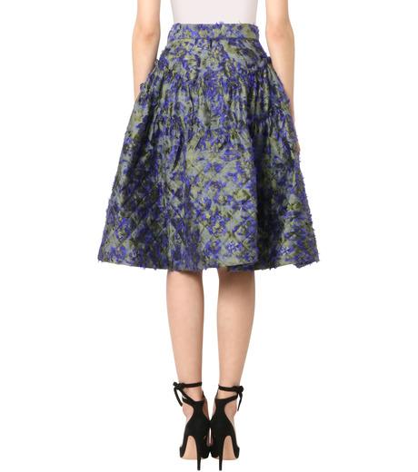 Jourden(ジョーダン)のCobalt Asym. Duvet Ruffle Skirt-BLUE(スカート/skirt)-1603WJ1JA03-92 詳細画像2
