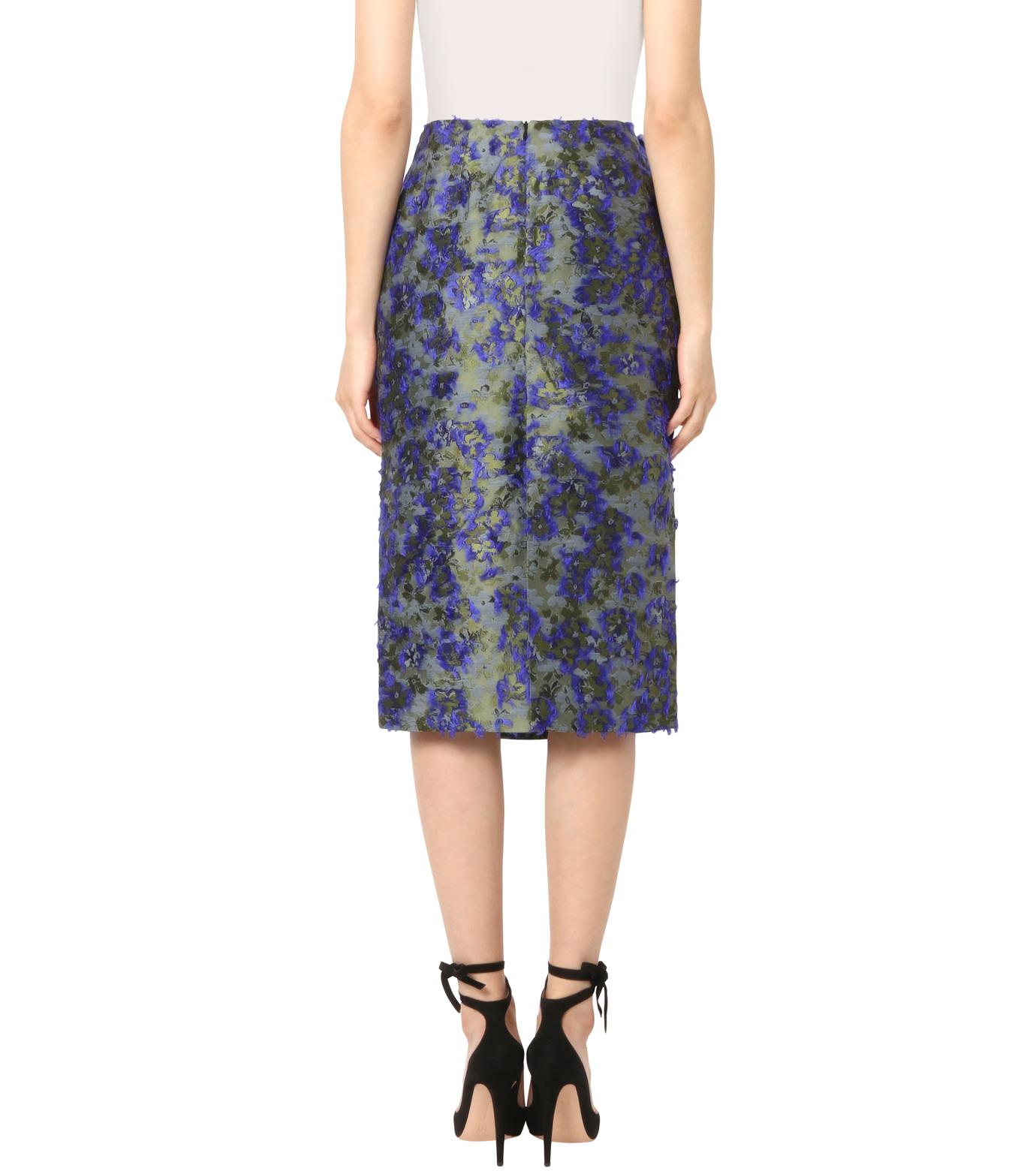 Jourden(ジョーダン)のCobalt Pencil Skirt-BLUE(スカート/skirt)-1603WJ3JA03-92 拡大詳細画像2