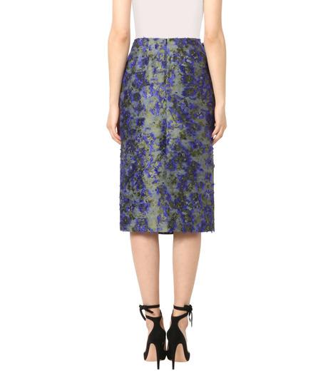 Jourden(ジョーダン)のCobalt Pencil Skirt-BLUE(スカート/skirt)-1603WJ3JA03-92 詳細画像2