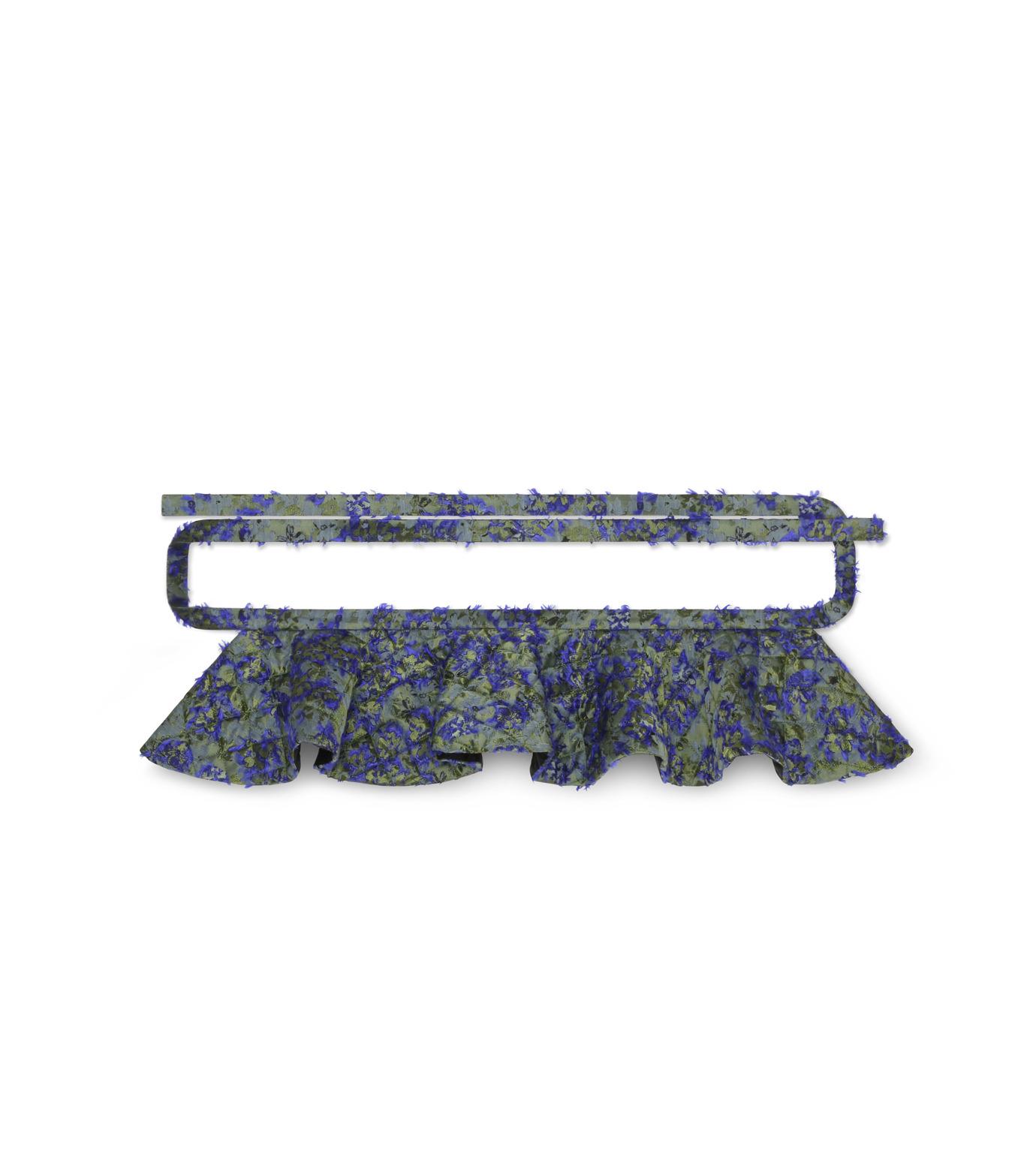 Jourden(ジョーダン)のCobalt Duvet Fuller Tie Belt-BLUE(ベルト/belt)-1603WJ4JA03-92 拡大詳細画像1