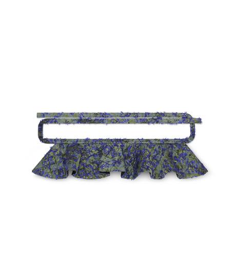 Jourden(ジョーダン)のCobalt Duvet Fuller Tie Belt-BLUE(ベルト/belt)-1603WJ4JA03-92 詳細画像1