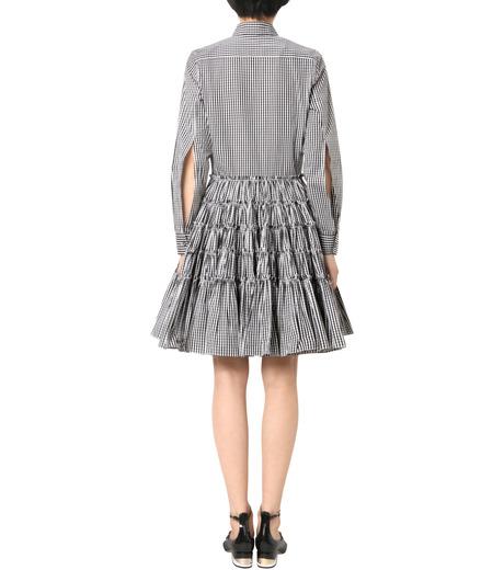 Jourden(ジョーダン)のBlack&White Gingham Shirt Dress-BLACK(ワンピース/one piece)-1603WR2TH03-13 詳細画像2