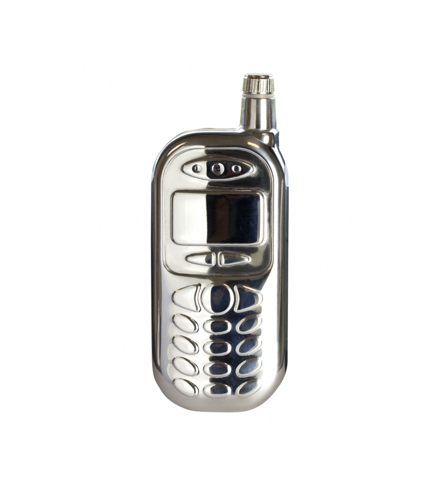 INVOTIS(インヴォティス)のMobile Phone Hip Flask-SILVER(アザーズ/others)-1655-1 拡大詳細画像1