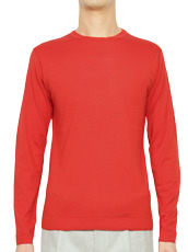 AMéLIE HIGH GAUGE CREW NECK SWEATER