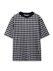 LE CIEL BLEU ギンガムチェックTシャツ