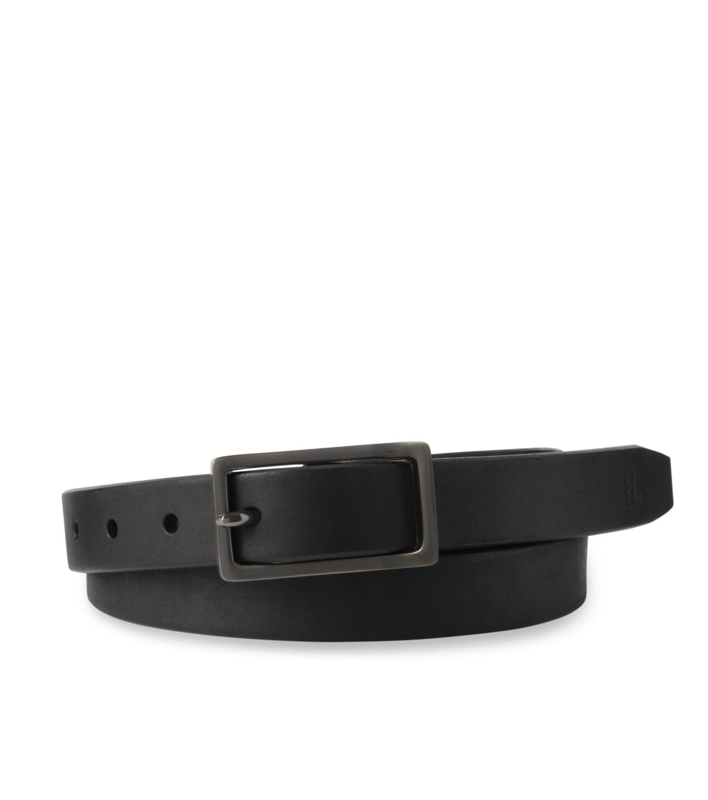 HL HEDDIE LOVU(エイチエル・エディールーヴ)のSaddle basic-BLACK(ベルト/belt)-16A90001-13 拡大詳細画像1