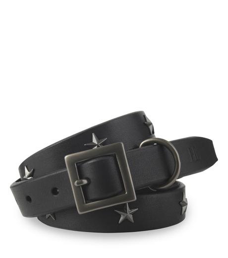HL HEDDIE LOVU(エイチエル・エディールーヴ)のSaddle STAR BELT-BLACK(ベルト/belt)-16A90005-13 詳細画像1