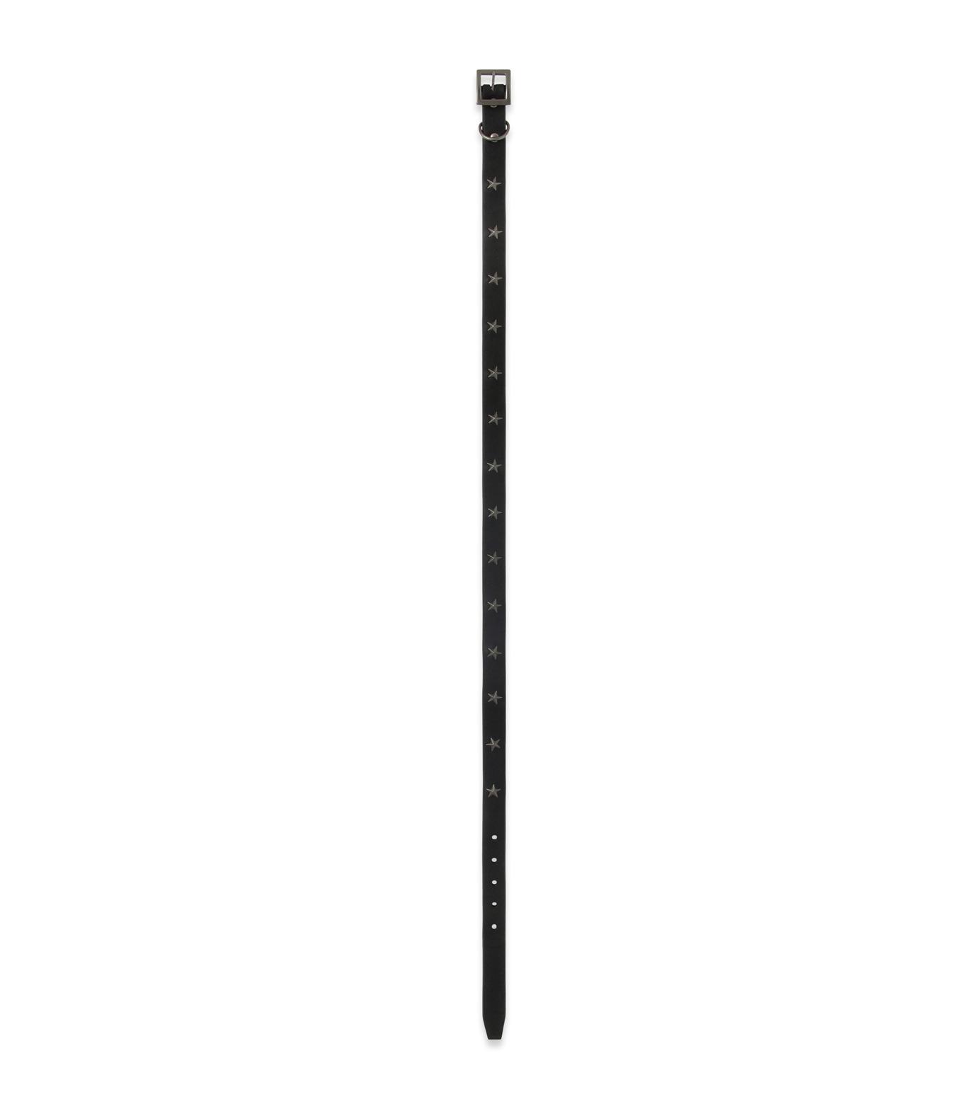 HL HEDDIE LOVU(エイチエル・エディールーヴ)のSaddle STAR BELT-BLACK(ベルト/belt)-16A90005-13 拡大詳細画像2