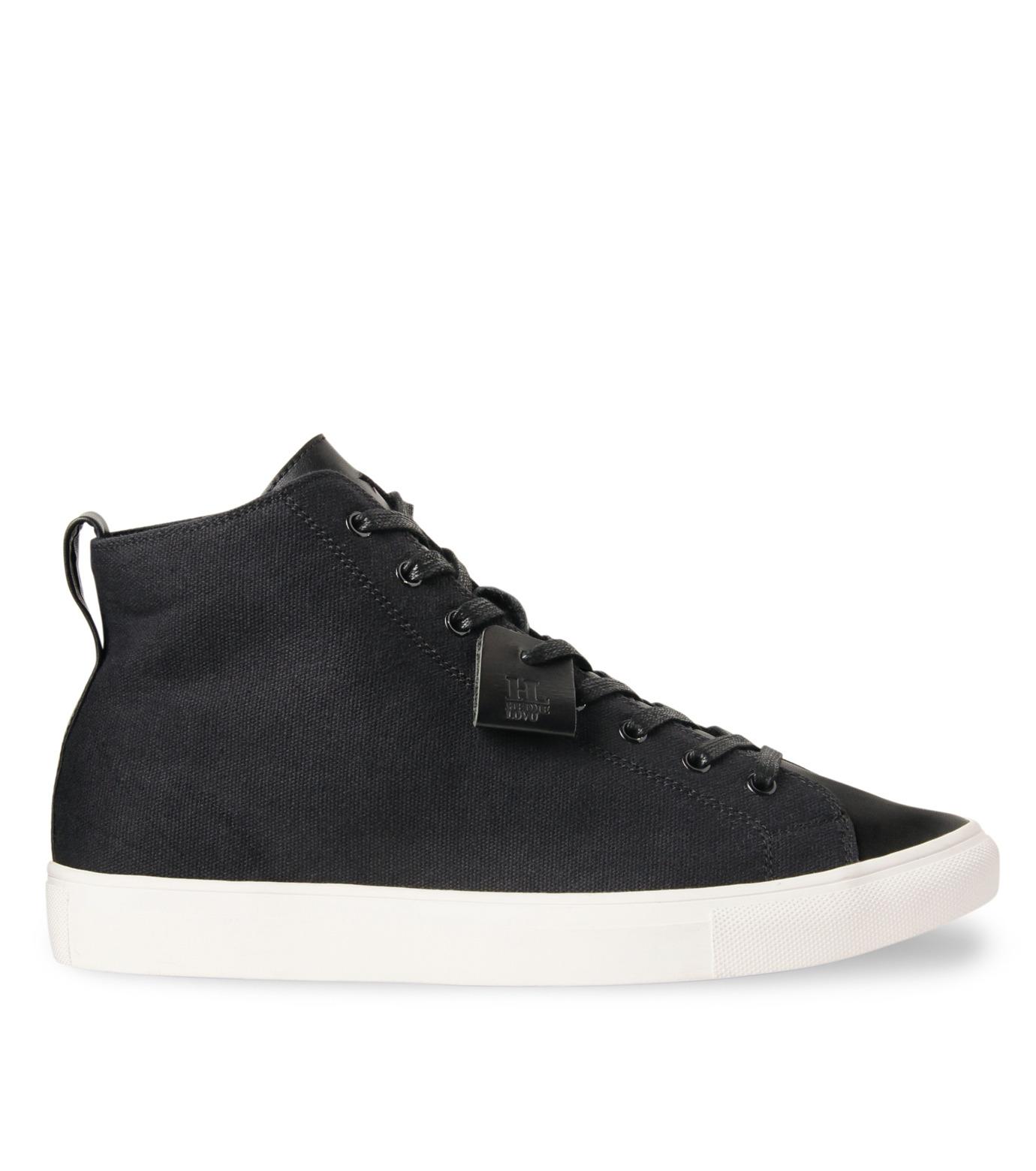HL HEDDIE LOVU(エイチエル・エディールーヴ)のHL Hi sneaker-BLACK(スニーカー/sneaker)-16A90006-13 拡大詳細画像1