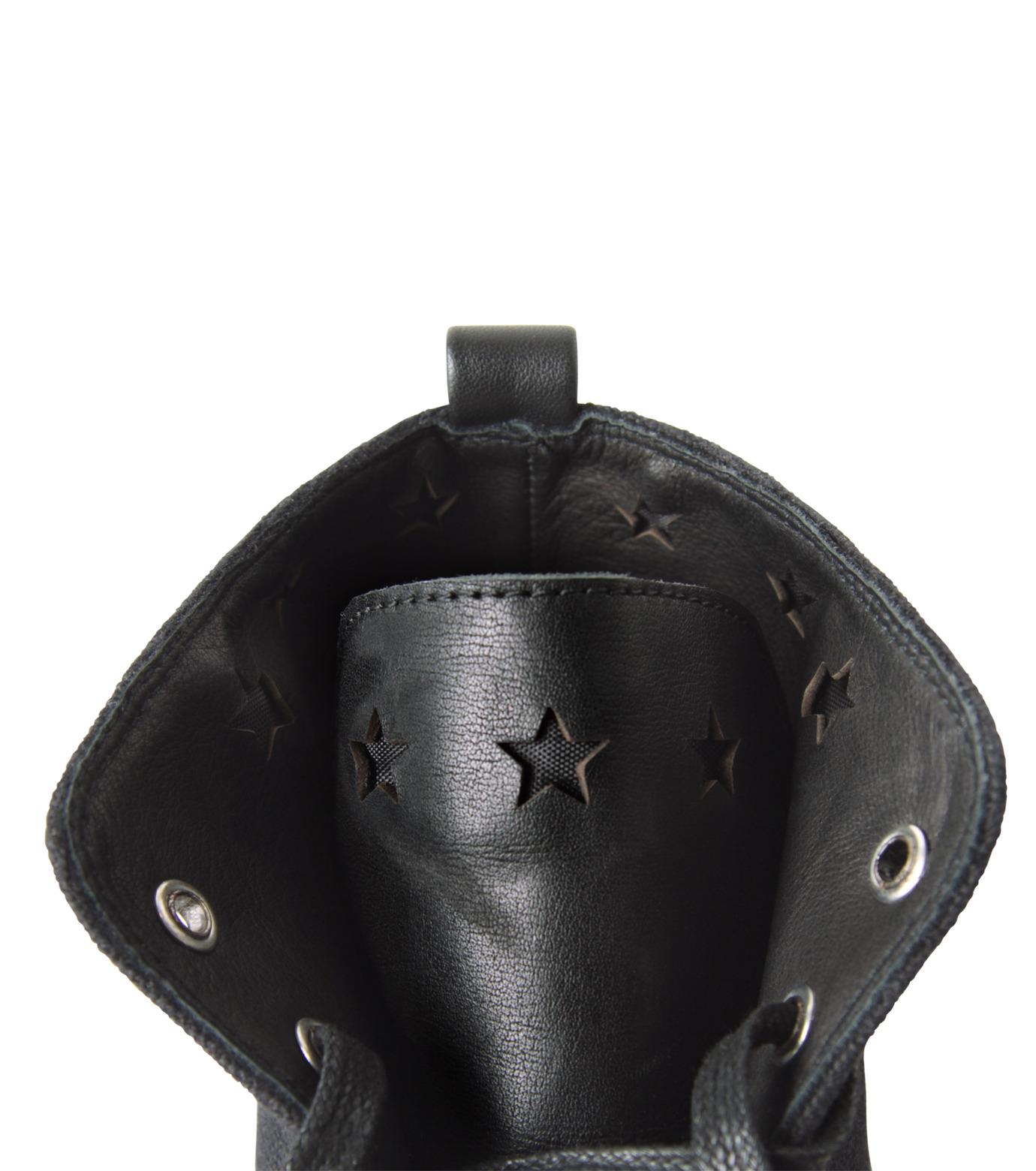 HL HEDDIE LOVU(エイチエル・エディールーヴ)のHL Hi sneaker-BLACK(スニーカー/sneaker)-16A90006-13 拡大詳細画像5