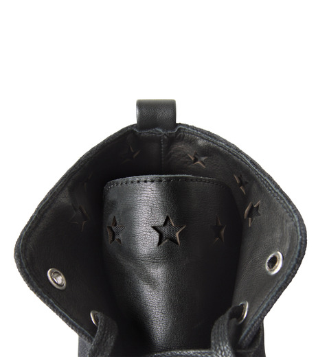 HL HEDDIE LOVU(エイチエル・エディールーヴ)のHL Hi sneaker-BLACK(スニーカー/sneaker)-16A90006-13 詳細画像5